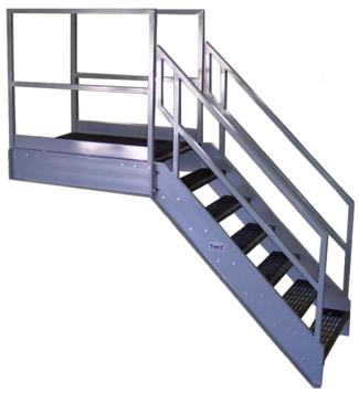 Perfect Galvanized Stairways, Osha Stairs ...