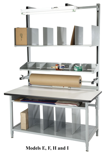 Packaging Bench In A Box Packaging Station Shop Desk