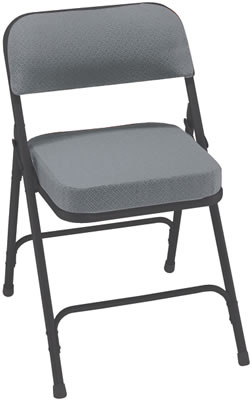 Black Cushioned Folding Chair Amazing Marquee Padded
