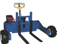 all terrain truck with gas powered tractin drive