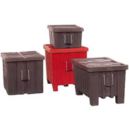 ribbed wall shipping & storage containers