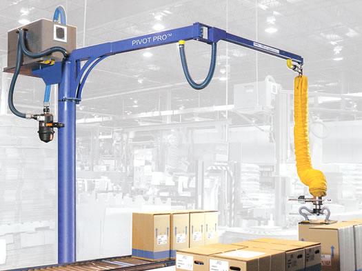 Pivot Pro Free Standing Articulating Jib Cranes Gorbel