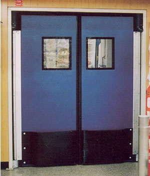 The most versatile traffic door on the market today the Poly-Kor™ has been proven in a variety of applications. With its attractive & Poly-Kor Impact Doors Impact Traffic Door Rubbair Doors