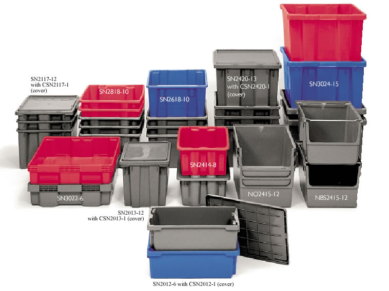 Stack N Nest Containers Bins Industrial Bins Plastic
