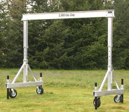 Awesome Portable Aluminum Gantry Crane