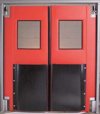 Poultry Hatchery Door Impact Doors Impact Traffic Door