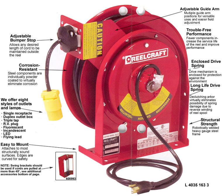 Cable Reel Cable Reels Power Cord Reels Light Reels