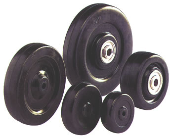 Soft Rubber Hard Rubber With Ball Bearing Wheels Caster