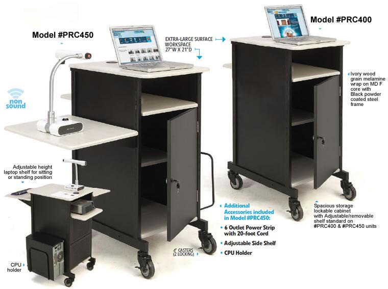PRC Presentation Cart, Audio Visual Carts, Presentation Carts ...