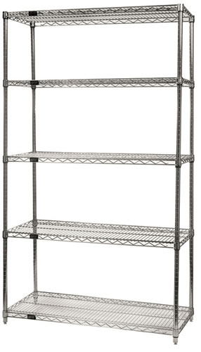 Attrayant Wire Shelving System