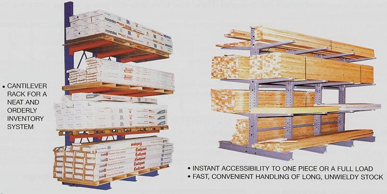 Bar Storage Racks Cantilever Racks Heavy Duty Cantilever