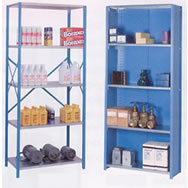 lyon 8000 series galvanized shelving