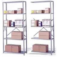 lyon 800 series open shelving sections