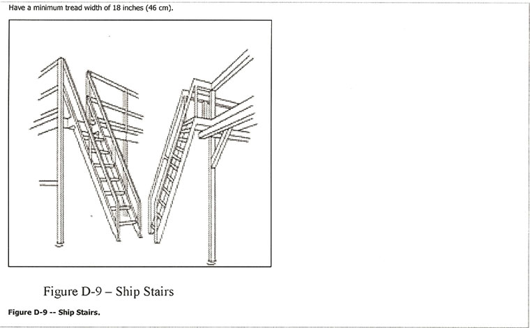 Hatch Access, Roof Access Ladders, Ladders, Ships Ladder, 68° Steep  Incline, Structural Steel Stairways Ships Ladder Design,