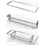 wall & ceiling pot racks