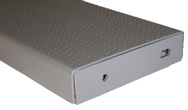 Welded End Plate, Galvanized Finish