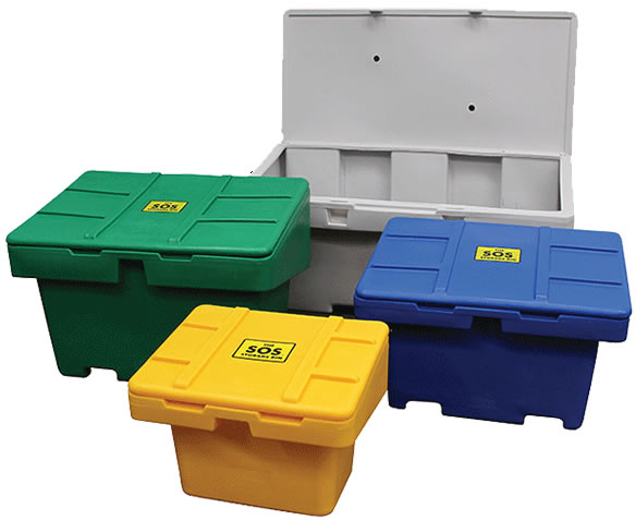 SOS Storage Bins Plastic Tote Boxes Polyethylene Containers