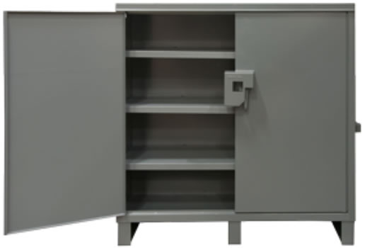 Job Site Storage Cabinet For Outdoor Use