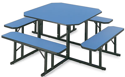 square cafeteria tables - Cafeteria Tables