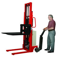 power drive stacker