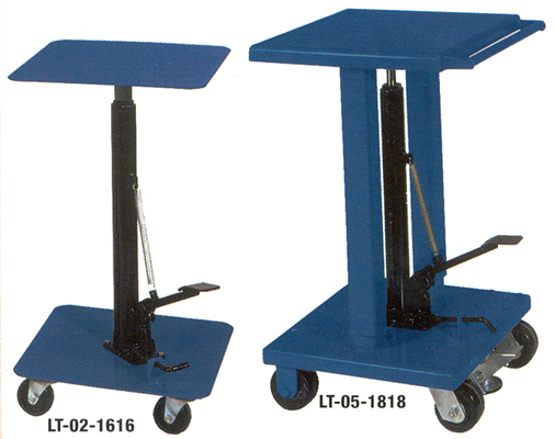 Foot Pump Hydraulic Lift Tables