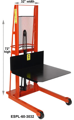large platform stackers
