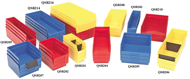 "store-more 6"" shelf bins"