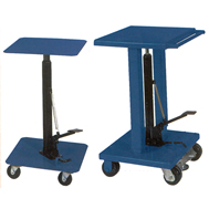 foot pump hyd lift tables std duty
