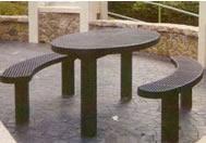 pedestal polysteel tables