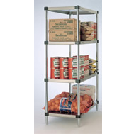 Heavy Duty Super Solid Shelving