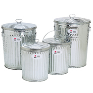 Galvanized Cans and Pails