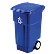rubbermaid mobile recycling collection equipment