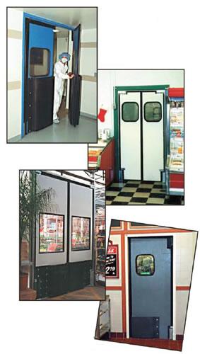 traffic doors  sc 1 st  LK Goodwin & Ultra-Lite Impact Doors Impact Traffic Door Rubbair Doors