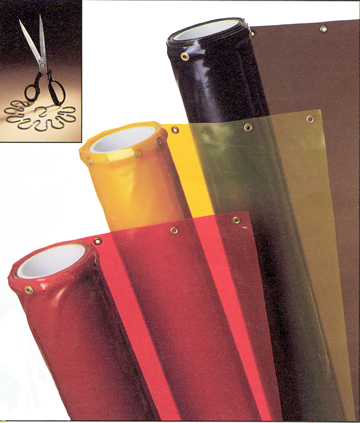 welding curtain rolls