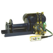 pneumatic winch-hoist