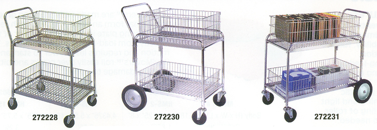 Wire Carts | Wire Office Foldaway Carts Wire Office Carts