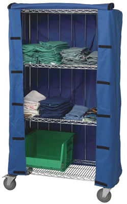 Wire Rack Covers | Wire Shelving Covers Wire Shelving Cart Covers Wire Cart Covers