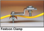 festoon clamp