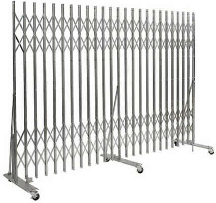 Xtra Duty Portable Gates Portable Security Gate Rolling